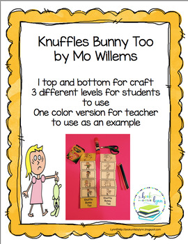 KNUFFLE BUNNY TOO   Book Units