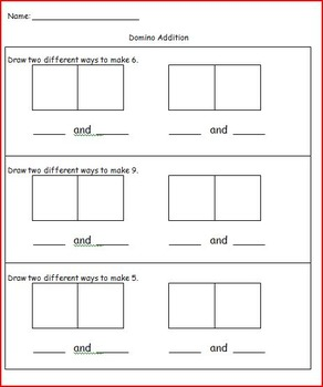 K.OA Operations and Algebraic Thinking Practice Pages