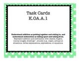 KOA Task Card Bundle - Includes All OA Standards for Kindergarten