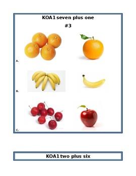 KOA1 Task Cards