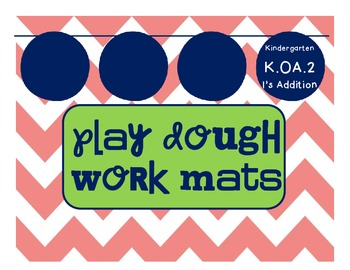 K.OA.2 Playdough Ten Frame Mats
