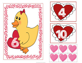 Valentine's Day Making 10 Card Game
