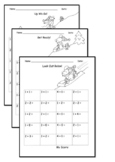 Kindergarten Addition Facts Fluency Drills: Common Core: Sums to 5  Snow