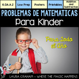 Word Problems for Kindergarten in Spanish K.OA.A.2
