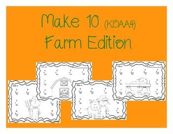 K.OA.A.4 Make 10 (Farm Edition)
