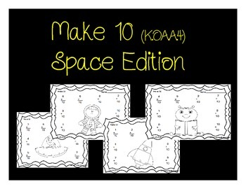 K.OA.A.4 Make 10 (Space Edition)