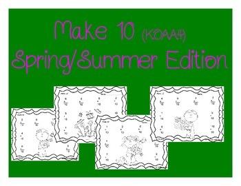 K.OA.A.4 Make 10 (Spring/Summer Edition)
