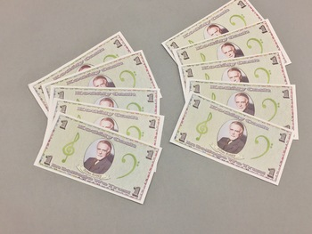 KODÁLY CASH! Fun Extrinsic Motivators for Music Class! *3 Sizes*