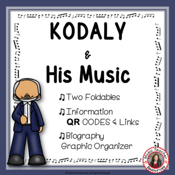 Music Listening: Music Composer Kodaly: Interactive Listening Journal Foldables