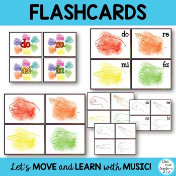 Music Decor Kodaly Solfege Posters and Games