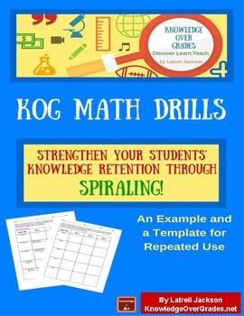 KOG Math Drills