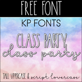 KP Fonts- Free Font for Commercial Use
