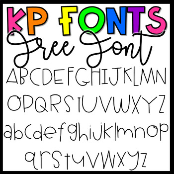 KP Fonts- Free Font for Personal and Commercial Use