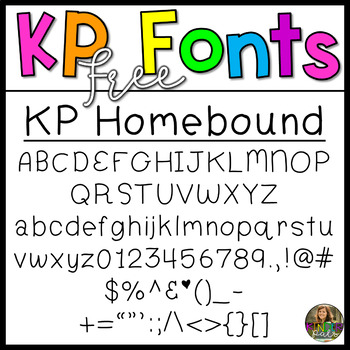 Free Font for Commercial Use-KP Fonts