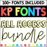 KP Fonts Growing Bundle- Fonts for Personal and Commercial Use