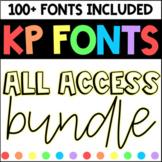 Fonts for Commercial Use- KP Fonts Bundle