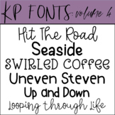 Fonts for Commercial Use-KP Fonts Volume 4
