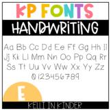 KP Fonts: Handwriting
