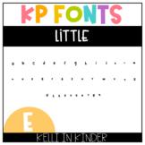 KP Fonts: Little