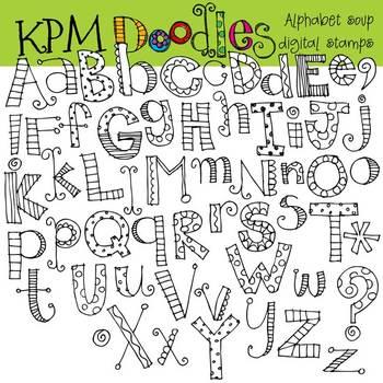 KPM Alphabet Soup Stamps