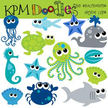 KPM BLue Sea Creatures