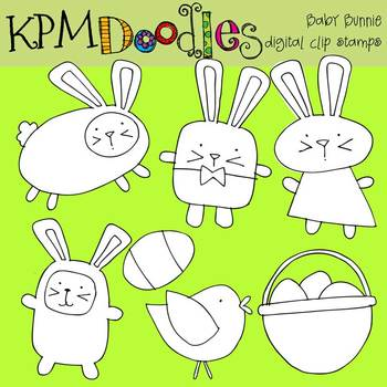 KPM Baby Bunnies Stamps