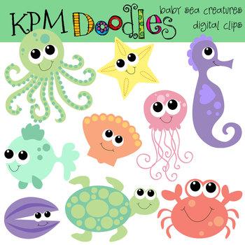 KPM Baby Sea Creatures
