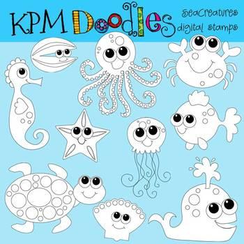 KPM Baby Sea Creatures COMBO
