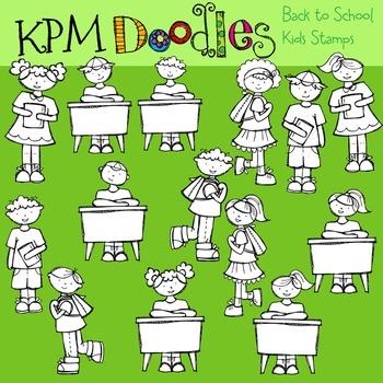 KPM Back to School Kids Stamps