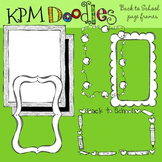 KPM Back to School Page Border Stamps