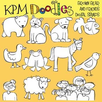 KPM Bear and Friends COMBO