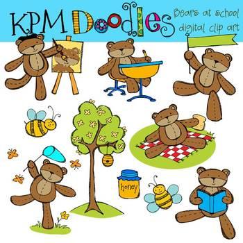 KPM Bears at School