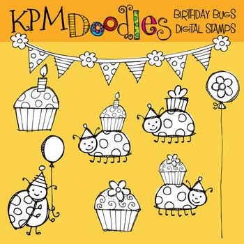 KPM Birthday Bugs COMBO