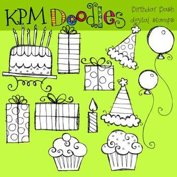 KPM Birthday stamps