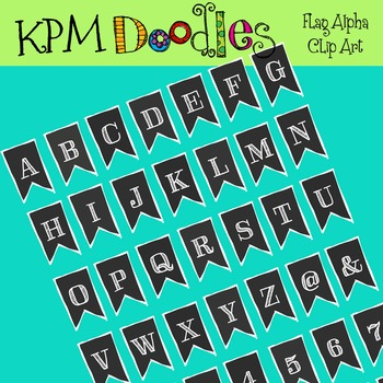 KPM Black flag banner Alpha