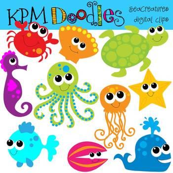 KPM Bright Sea Creatures