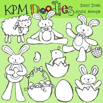 KPM Bunny Bash Stamps
