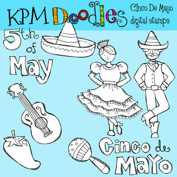 KPM CInco De Mayo Stamps