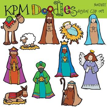 KPM Christmas Nativity