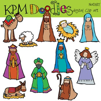 KPM Christmas Nativity