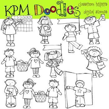 KPM Classroom Helpers Stamps