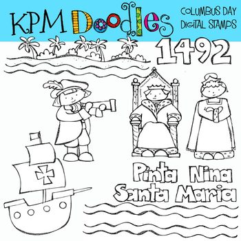 KPM Columbus day Stamps