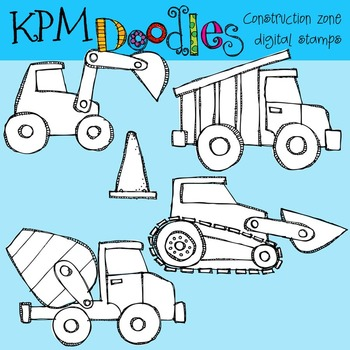 KPM Construction zone Stamps