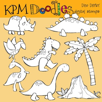 KPM Dino Derby Stamps