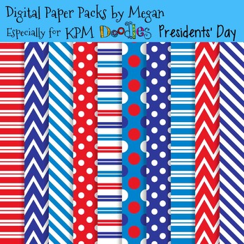 KPM Doodles Presidents' Day Papers