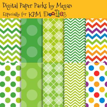 KPM Doodles St. Patrick's Day Fun Papers