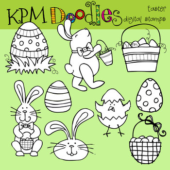 KPM Easter Stamps