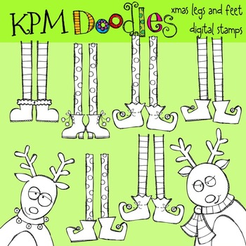 KPM Elf Legs Stamps