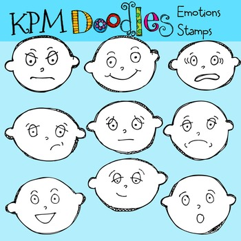 KPM Emotions Stamps