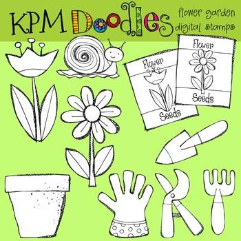 KPM Flower Garden Stamps